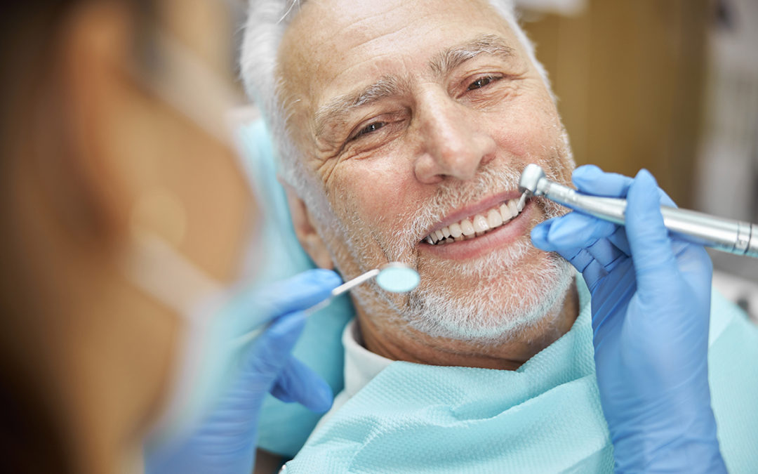 Elderly Dental Patient Oral Cancer Symptoms Screening